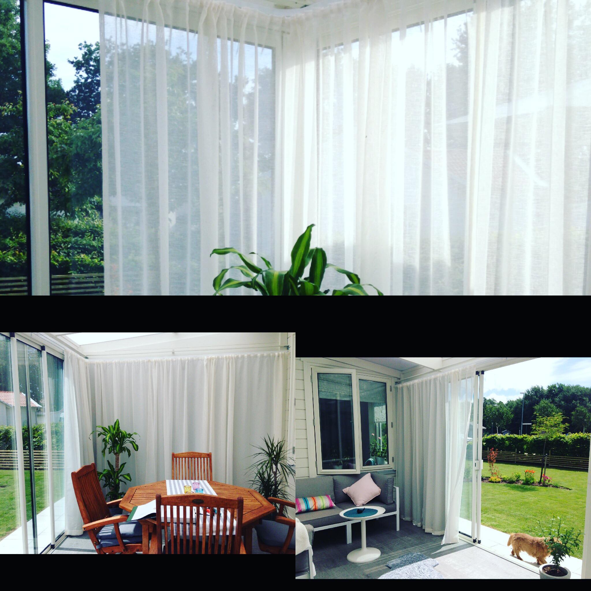 gardiner som solskydd